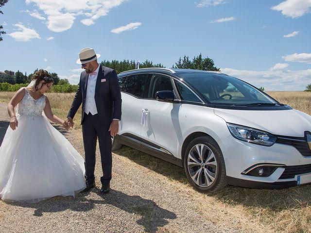 Le mariage de Sébastien et Christel à Aiguèze, Gard 4