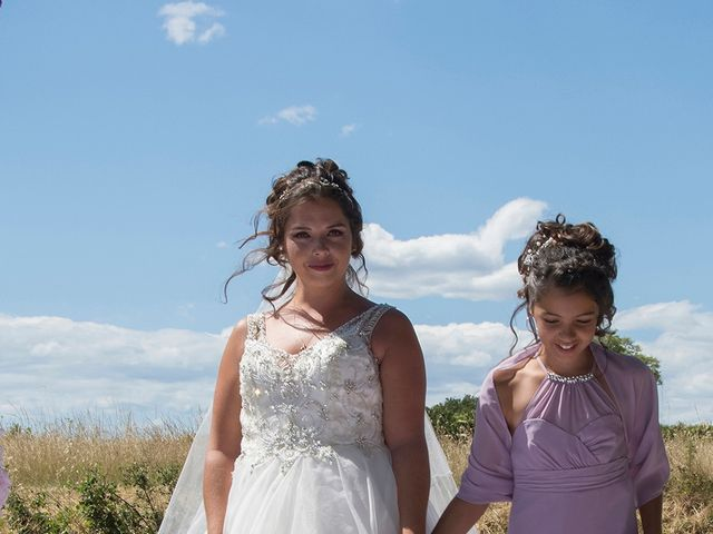 Le mariage de Sébastien et Christel à Aiguèze, Gard 5