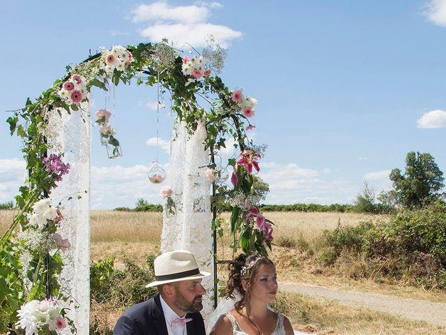 Le mariage de Sébastien et Christel à Aiguèze, Gard 6