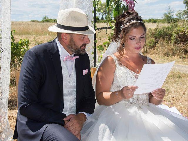 Le mariage de Sébastien et Christel à Aiguèze, Gard 7