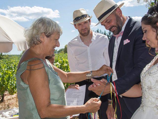 Le mariage de Sébastien et Christel à Aiguèze, Gard 11
