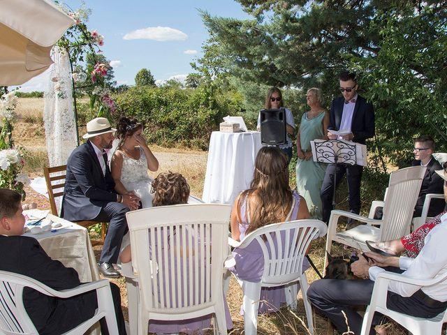 Le mariage de Sébastien et Christel à Aiguèze, Gard 13