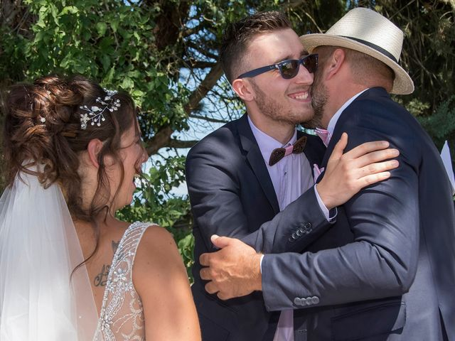 Le mariage de Sébastien et Christel à Aiguèze, Gard 14