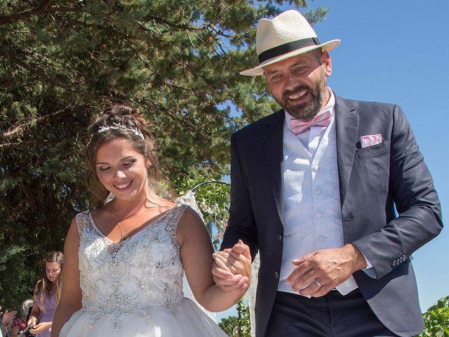 Le mariage de Sébastien et Christel à Aiguèze, Gard 18