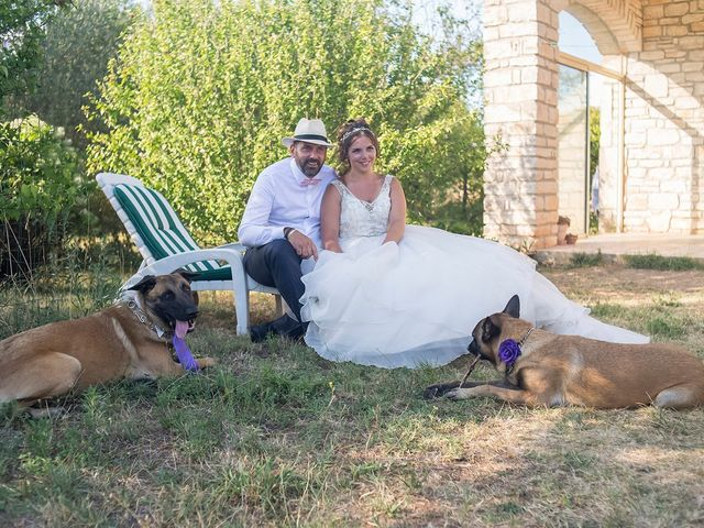 Le mariage de Sébastien et Christel à Aiguèze, Gard 28