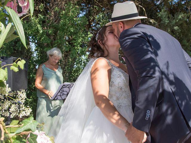 Le mariage de Sébastien et Christel à Aiguèze, Gard 16