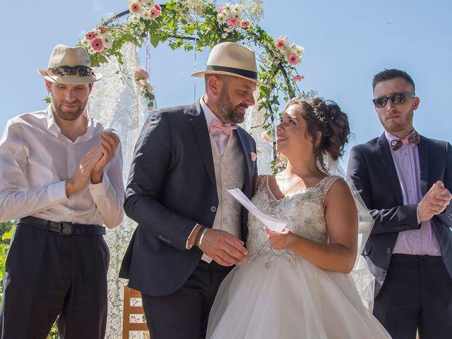 Le mariage de Sébastien et Christel à Aiguèze, Gard 17