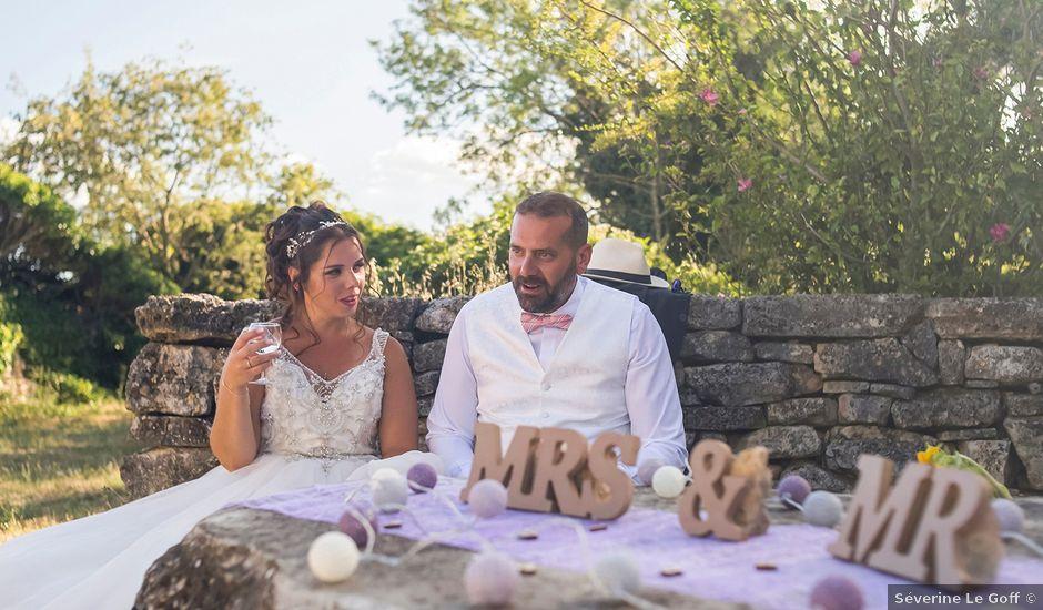 Le mariage de Sébastien et Christel à Aiguèze, Gard