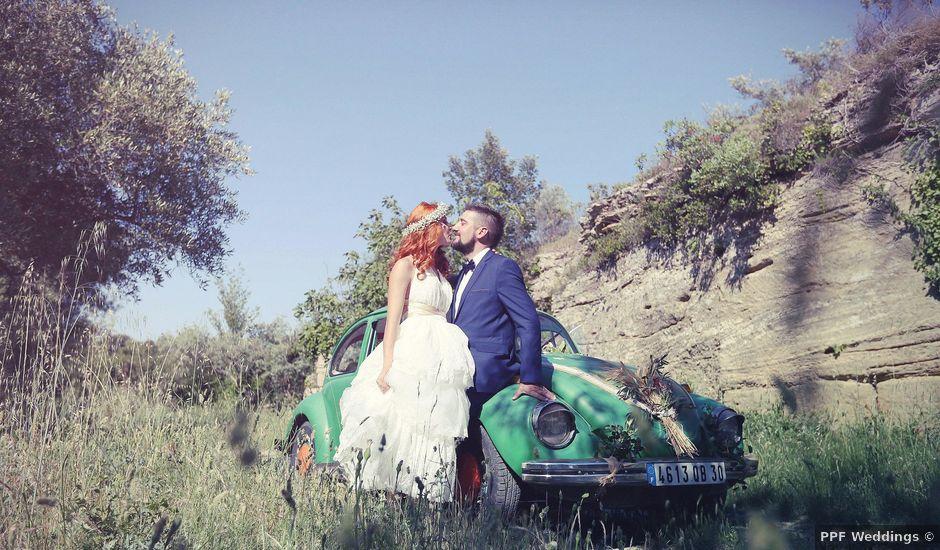 Le mariage de Cédric et Marjorie à Nîmes, Gard