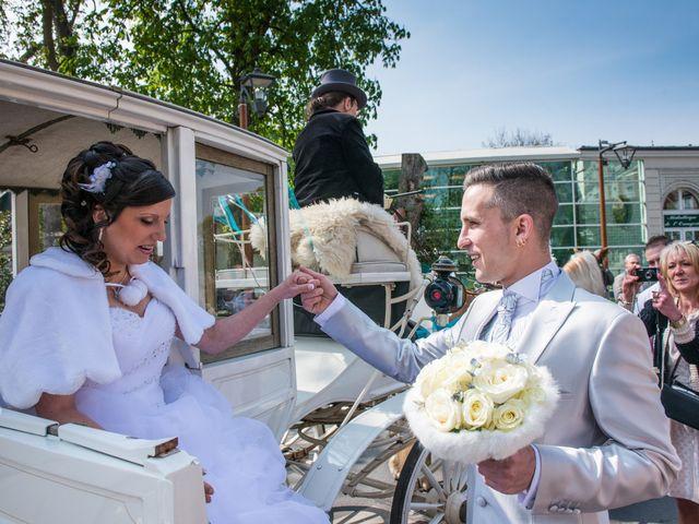 Le mariage de Marine et Eddie