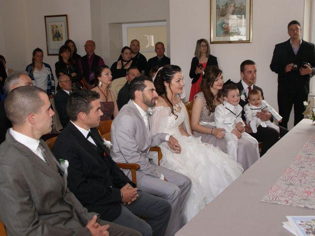 Le mariage de Fabien et Priscillia à Chauché, Vendée 13