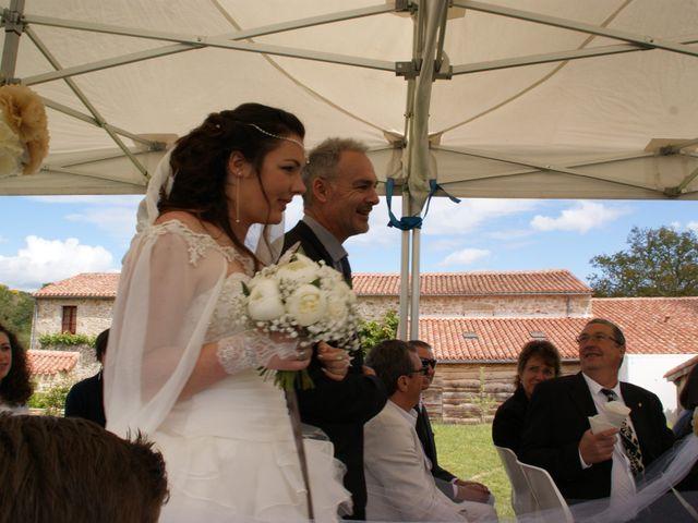 Le mariage de Fabien et Priscillia à Chauché, Vendée 18