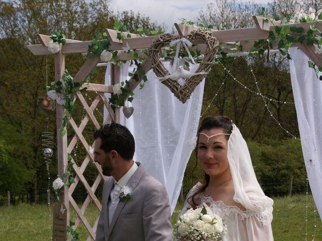 Le mariage de Fabien et Priscillia à Chauché, Vendée 20