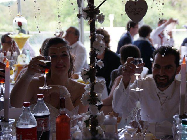 Le mariage de Fabien et Priscillia à Chauché, Vendée 27