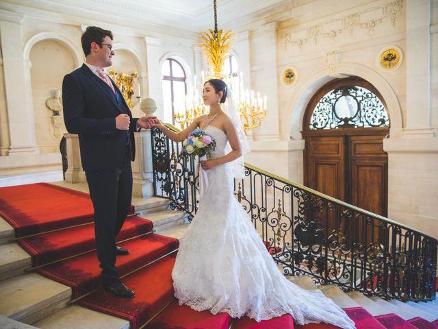 Le mariage de Qiao et Michel