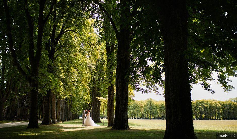 Le mariage de François et Camille à Richelieu, Indre-et-Loire