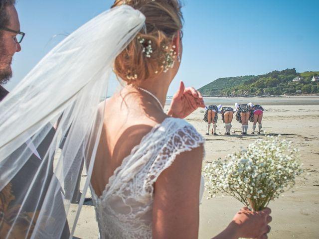 Le mariage de Gireg et Aurélie à Plestin-les-Grèves, Côtes d'Armor 8