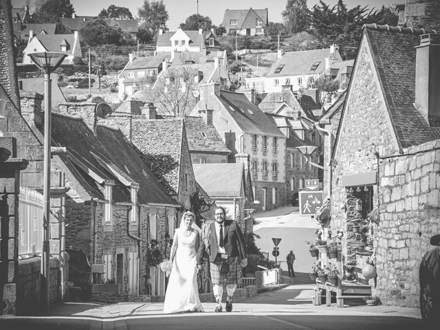 Le mariage de Gireg et Aurélie à Plestin-les-Grèves, Côtes d'Armor 13