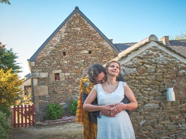 Le mariage de Gireg et Aurélie à Plestin-les-Grèves, Côtes d'Armor 22