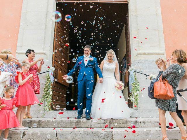 Le mariage de Xavier et Julie à La Crau, Var 1