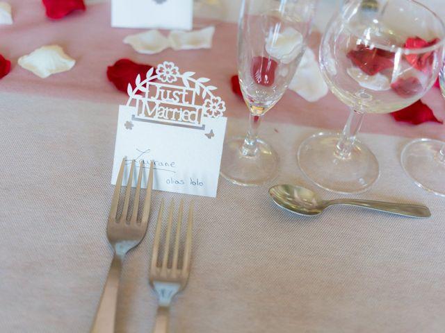 Le mariage de Christopher et Alison à Saint-Georges-des-Agoûts, Charente Maritime 32