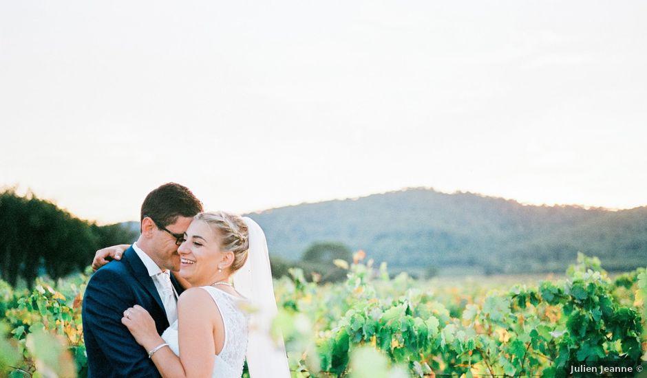 Le mariage de Xavier et Julie à La Crau, Var