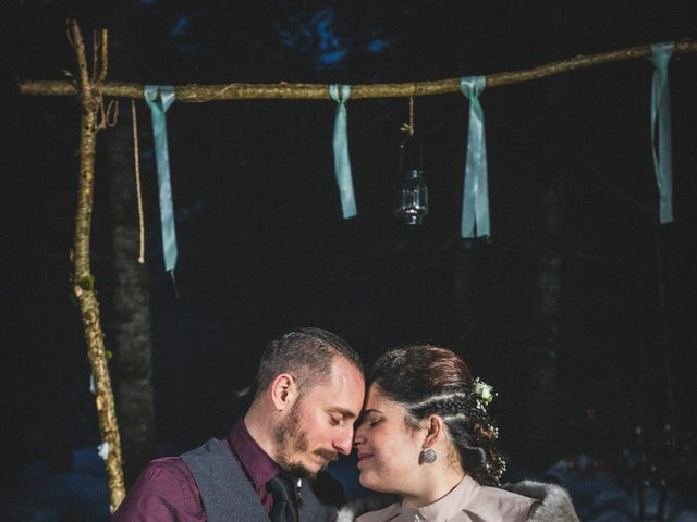 Le mariage de Laurent et Sofia à Château-des-Prés, Jura 1