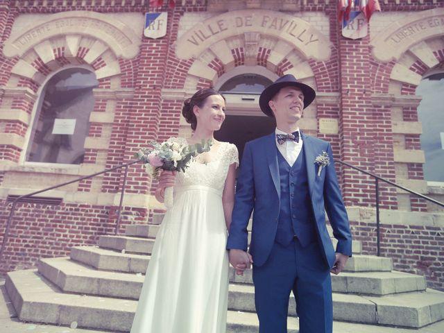 Le mariage de Sylvain et Stéphanie à Valliquerville, Seine-Maritime 27