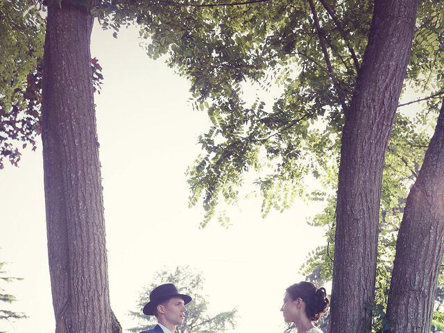 Le mariage de Sylvain et Stéphanie à Valliquerville, Seine-Maritime 95