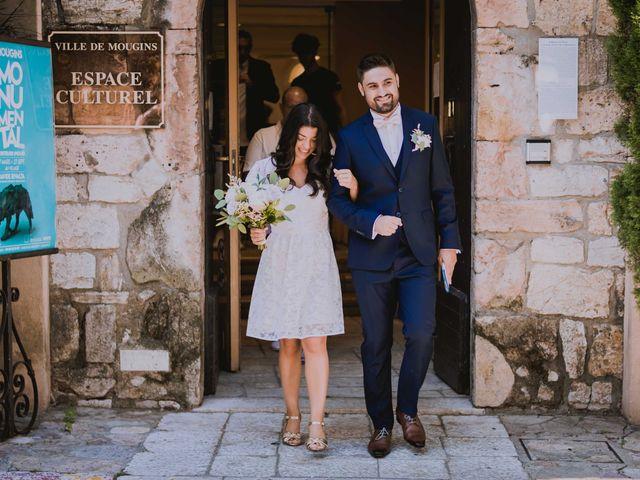 Le mariage de Romain et Lisa à Mougins, Alpes-Maritimes 16
