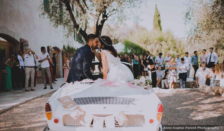 Le mariage de Romain et Lisa à Mougins, Alpes-Maritimes