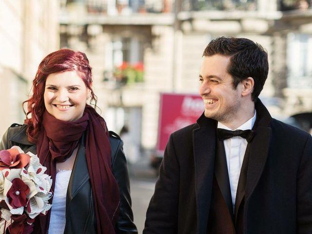 Le mariage de Romain Collomp et Coralie  à Paris, Paris 4