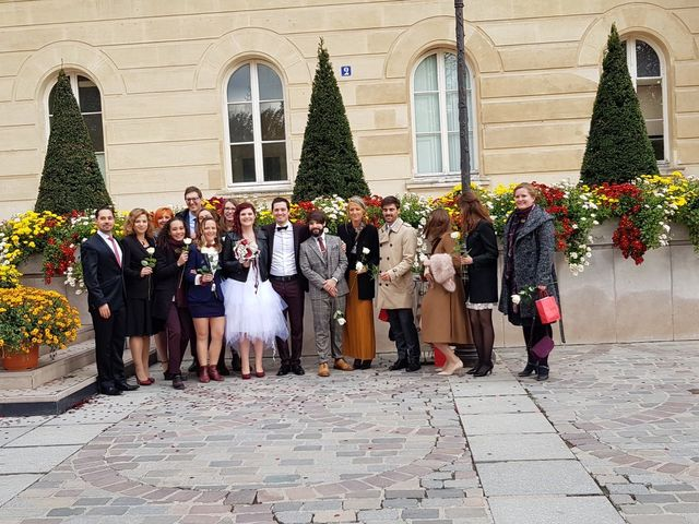 Le mariage de Romain Collomp et Coralie  à Paris, Paris 16