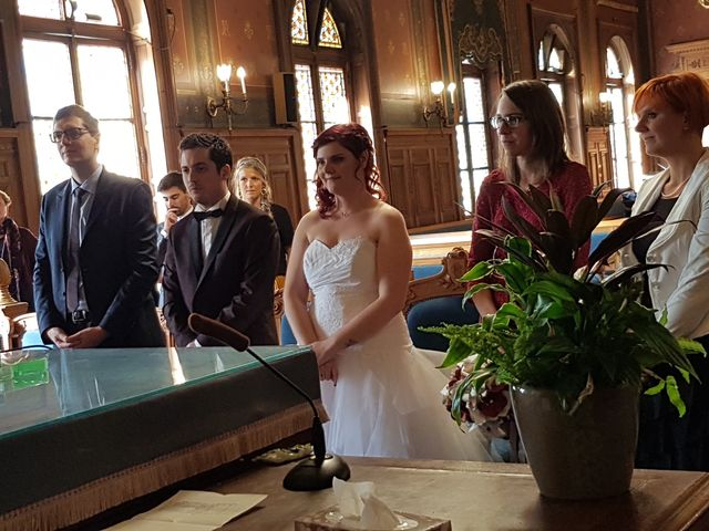 Le mariage de Romain Collomp et Coralie  à Paris, Paris 18