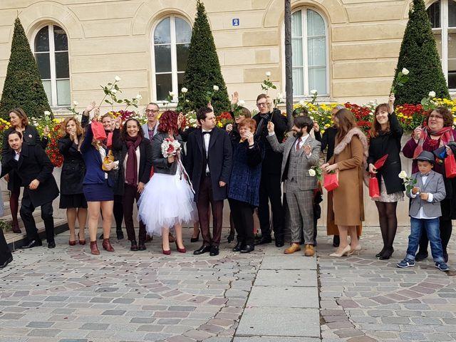 Le mariage de Romain Collomp et Coralie  à Paris, Paris 20