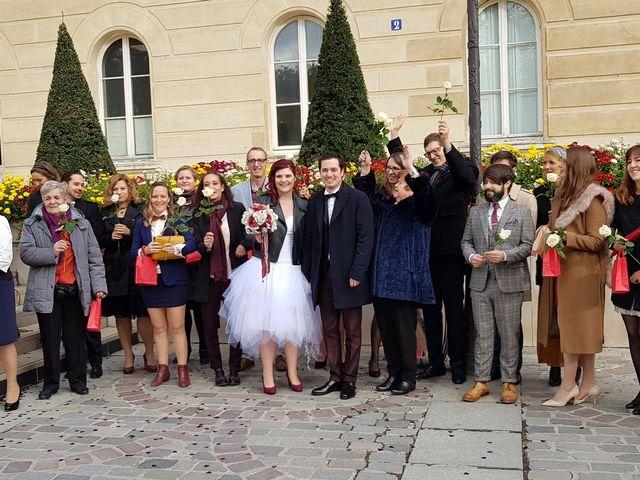 Le mariage de Romain Collomp et Coralie  à Paris, Paris 64
