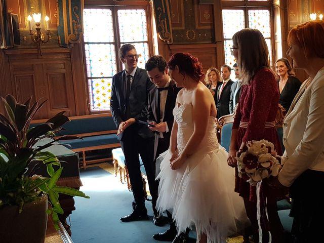Le mariage de Romain Collomp et Coralie  à Paris, Paris 68
