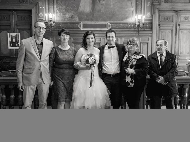 Le mariage de Romain Collomp et Coralie  à Paris, Paris 95