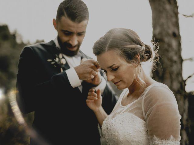 Le mariage de Sofiane et Pauline à Génolhac, Gard 1