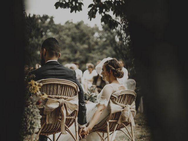 Le mariage de Sofiane et Pauline à Génolhac, Gard 67