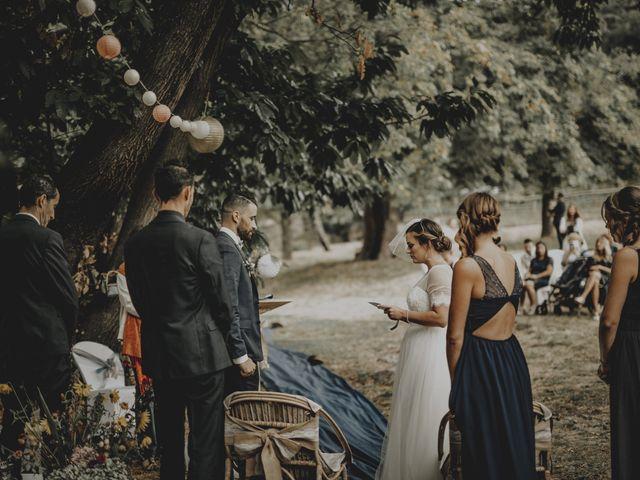 Le mariage de Sofiane et Pauline à Génolhac, Gard 74