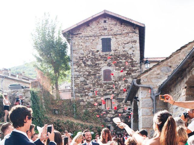 Le mariage de Thomas et Léa à Vialas, Lozère 11