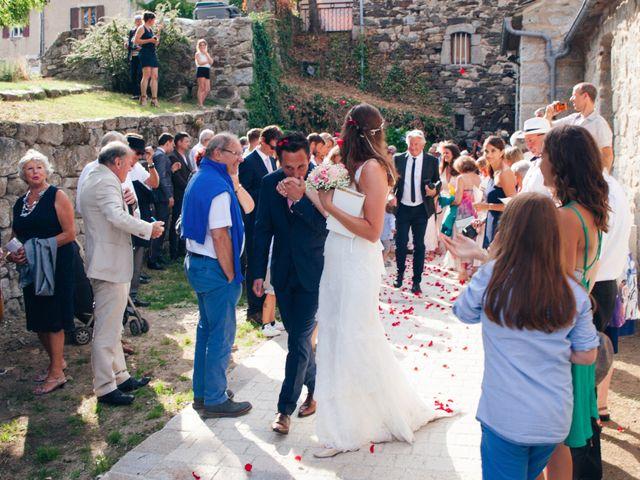 Le mariage de Thomas et Léa à Vialas, Lozère 12
