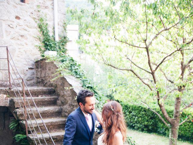 Le mariage de Thomas et Léa à Vialas, Lozère 2