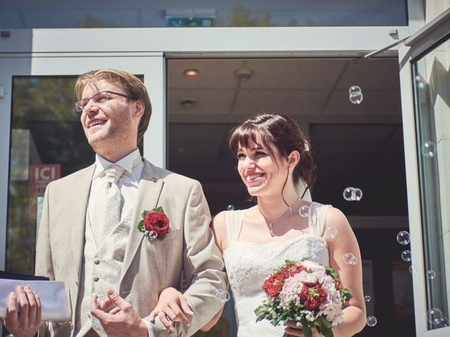 Le mariage de Marjorie et Vincent
