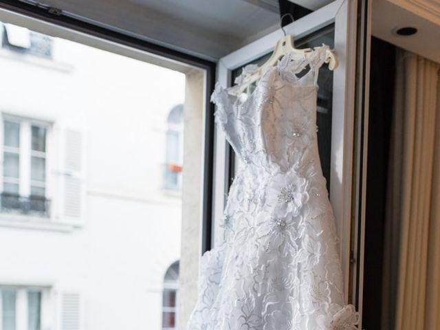 Le mariage de Michel et Olga à Paris, Paris 3