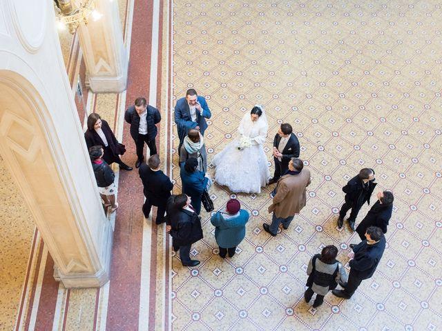 Le mariage de Michel et Olga à Paris, Paris 18