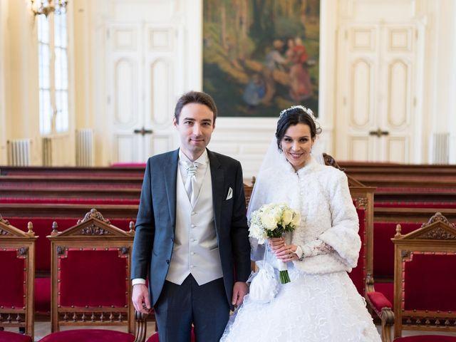 Le mariage de Michel et Olga à Paris, Paris 19