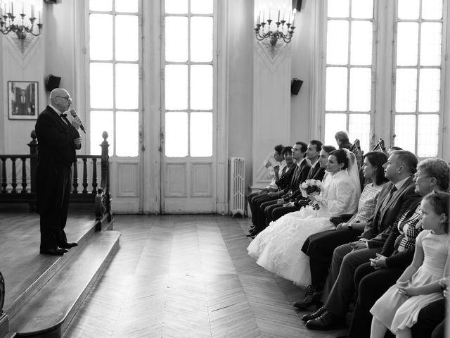 Le mariage de Michel et Olga à Paris, Paris 22