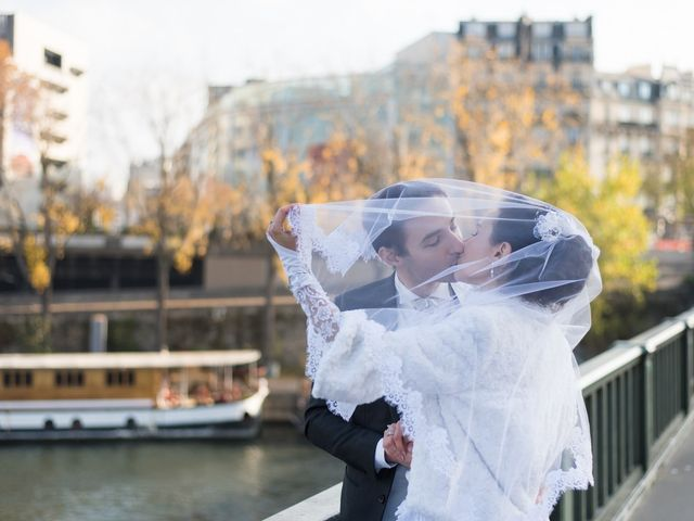 Le mariage de Olga et Michel